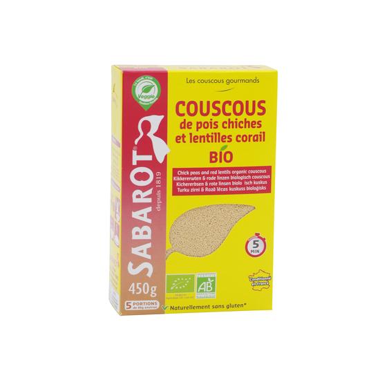 Couscous Pois Chiches Lentilles Corail Sabarot