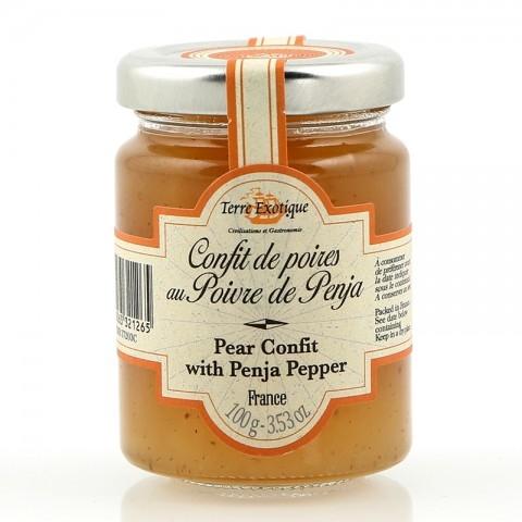 Confit de poires au poivre de Penja