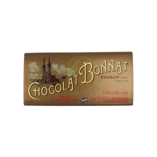 Bonnat Chocolat noir au Praliné amandes