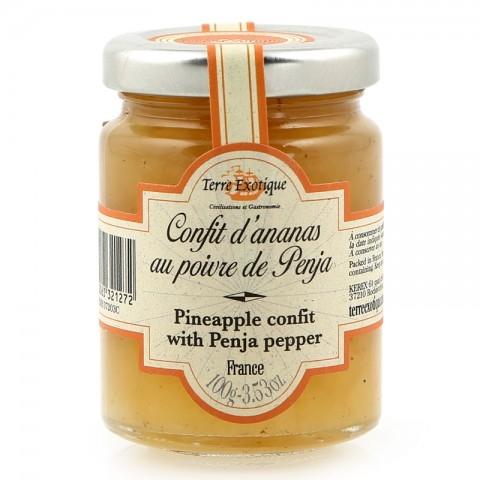 Confit d'ananas au poivre de Penja