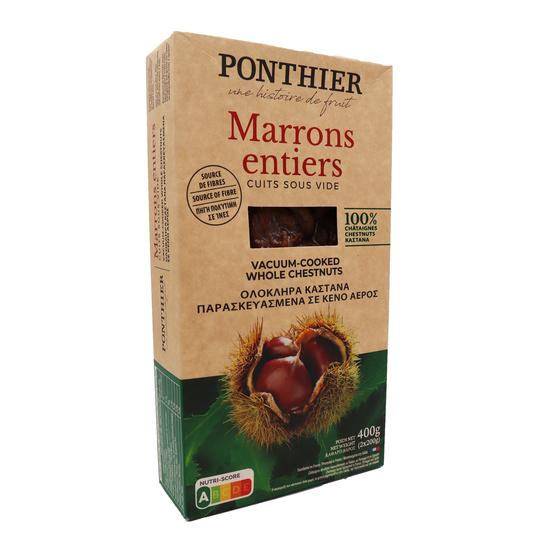 Marrons sous vide Pontier