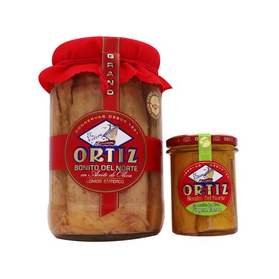 Filet Thon Germon Ortiz 1,6KG